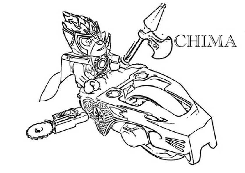 ausmalbilder  lego chima -6