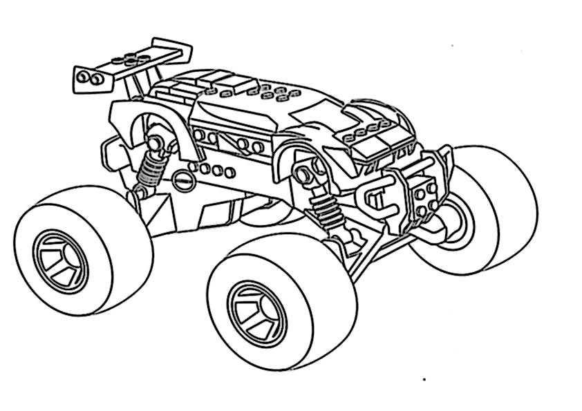 ausmalbilder monster truck -9
