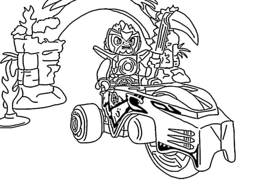 ausmalbilder  lego chima -16