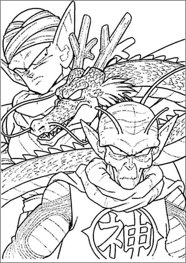 ausmalbilder dragon ball-11
