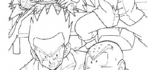 ausmalbilder dragon ball-13