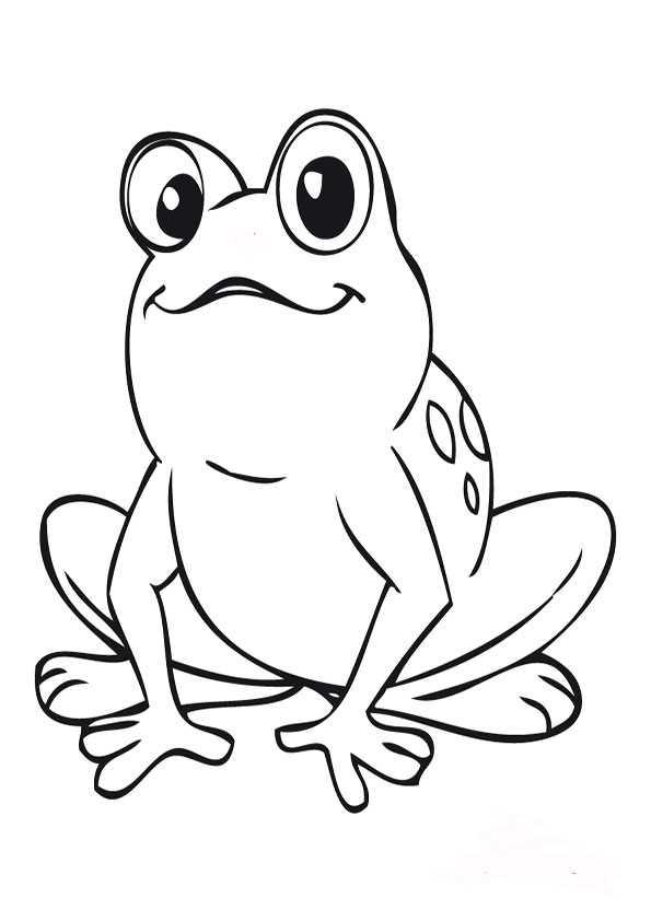 ausmalbilder frosch5  ausmalbilder malvorlagen