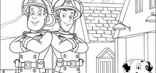 Ausmalbilder Feuerwehrmann Sam 17 Ausmalbilder Malvorlagen
