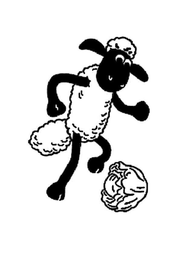 Shaun Das Schaf Ausmalbilder 3 Ausmalbilder Malvorlagen