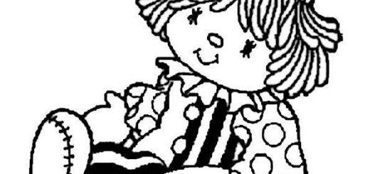 ausmalbilder clown-15