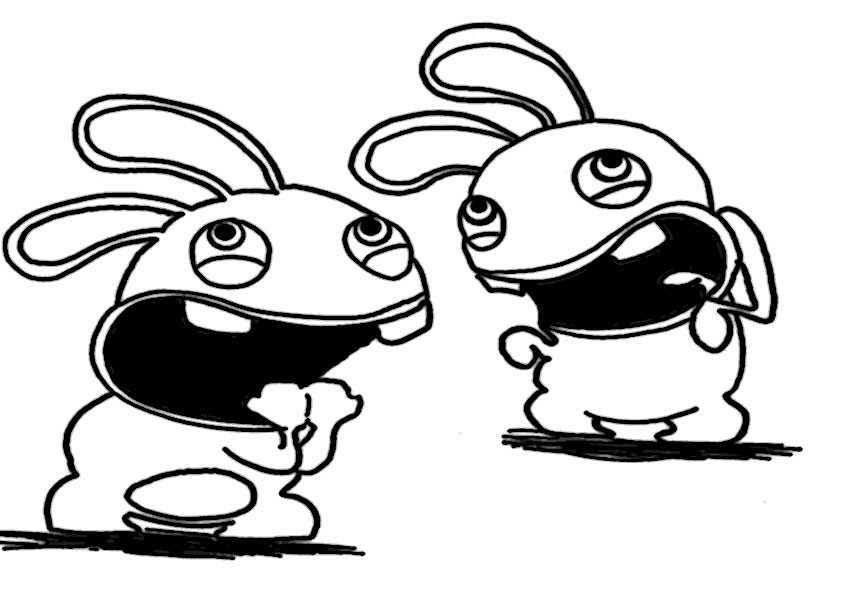 ausmalbilder rayman rabbids -2