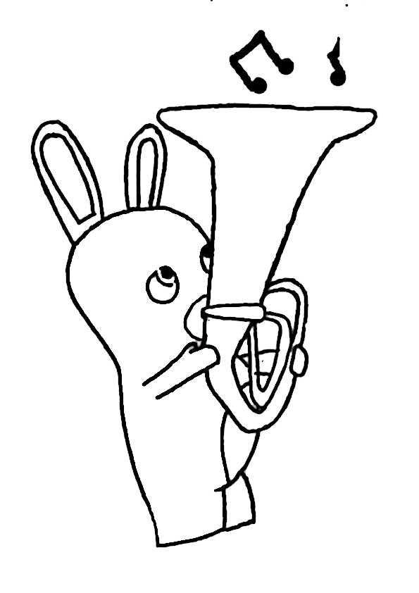 ausmalbilder rayman rabbids -9