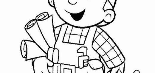 bob der baumeister ausmalbilder-13