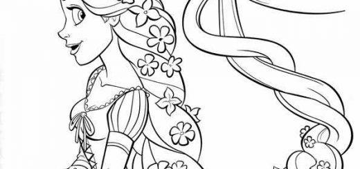 Ausmalbilder Rapunzel 17 Ausmalbilder Malvorlagen