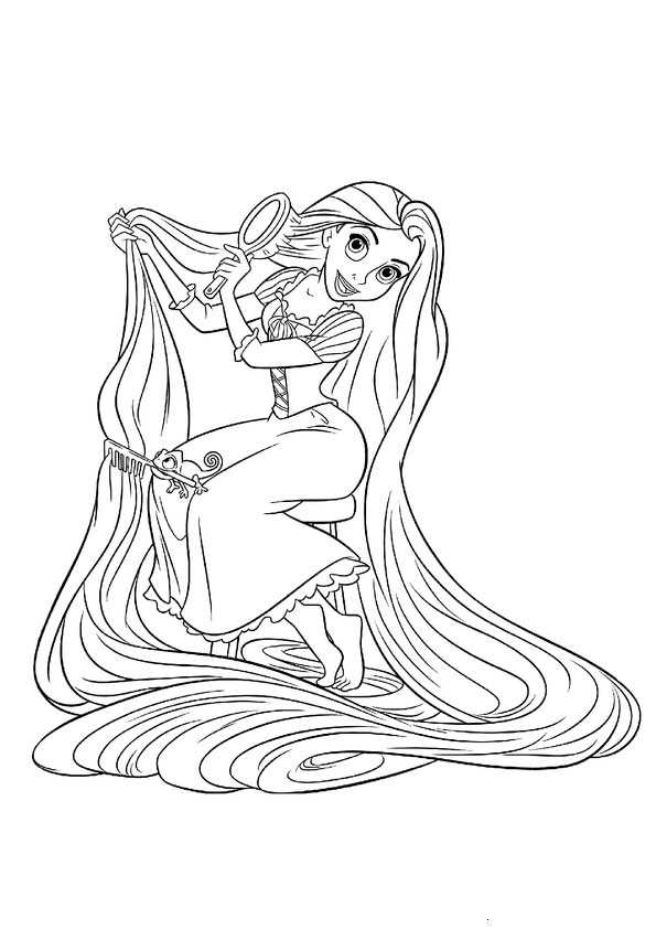 ausmalbilder  rapunzel-17