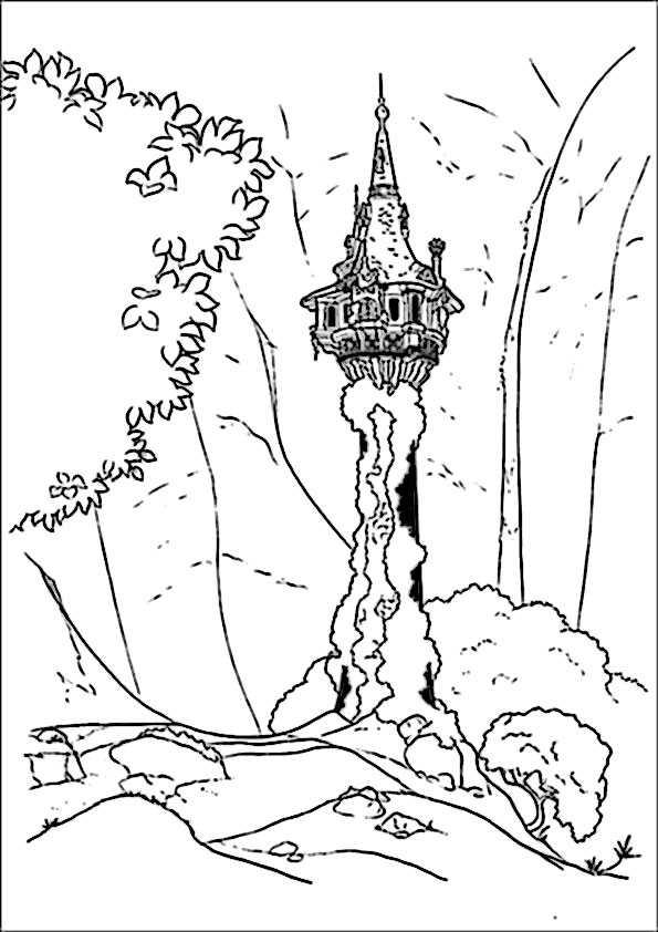 Ausmalbilder Rapunzel 5 Ausmalbilder Malvorlagen