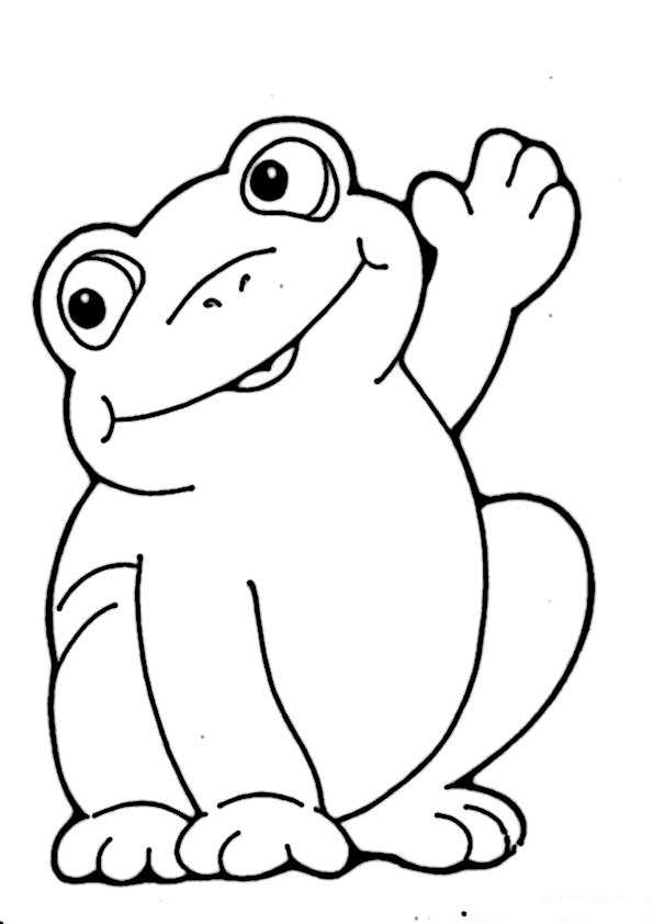 frosch ausmalbilder-13