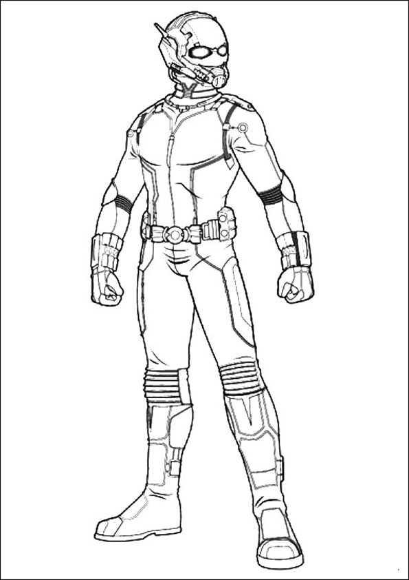 ausmalbilder  ant-man-14