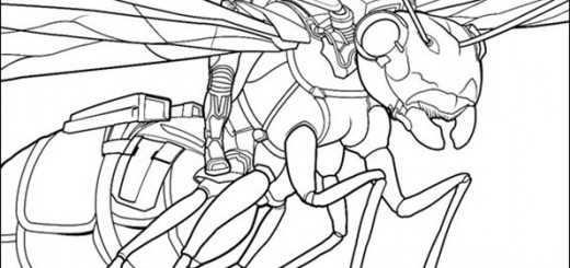 ausmalbilder ant-man-15