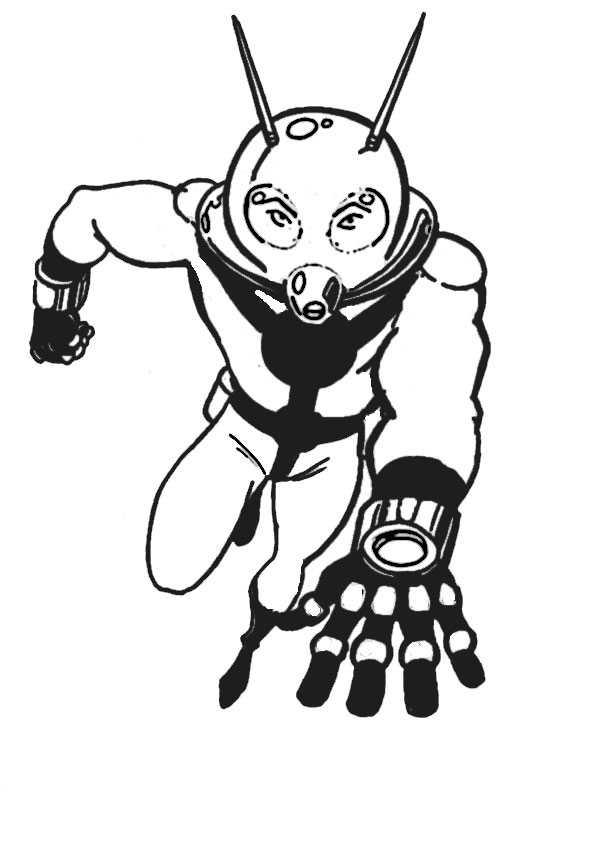 ausmalbilder  ant-man-17