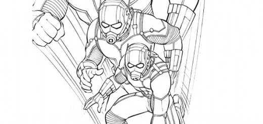 ausmalbilder ant-man-5