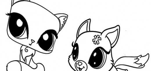 ausmalbilder littlest pet shop-5