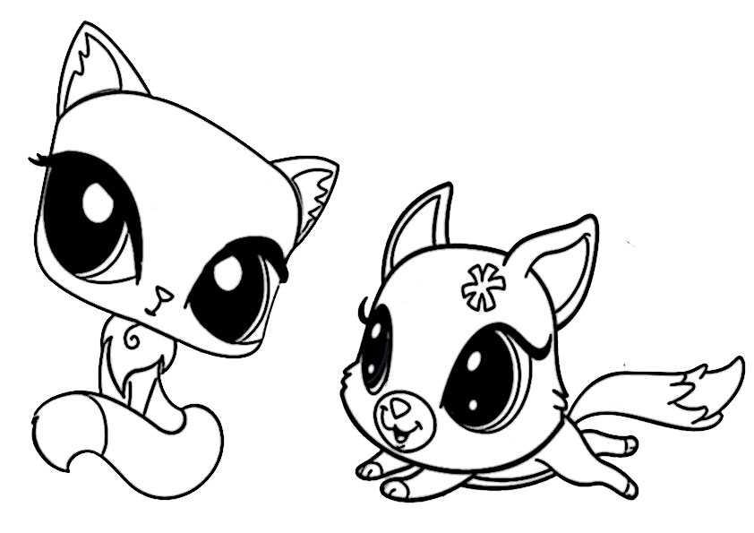 ausmalbilder  littlest pet shop-5