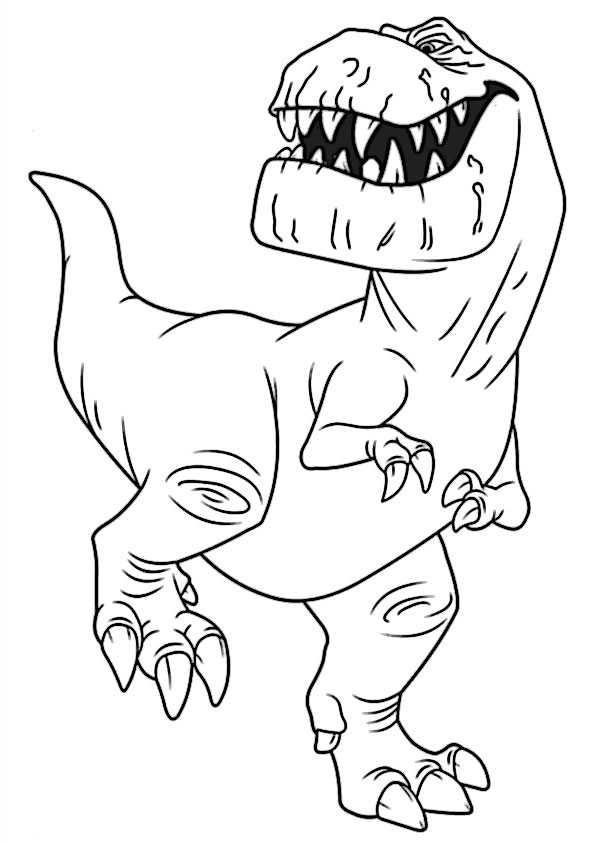 ausmalbilder der gute dinosaurier-4