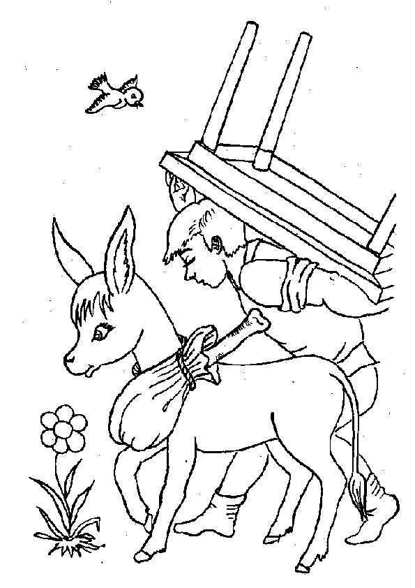 ausmalbilder märchenbilder -20