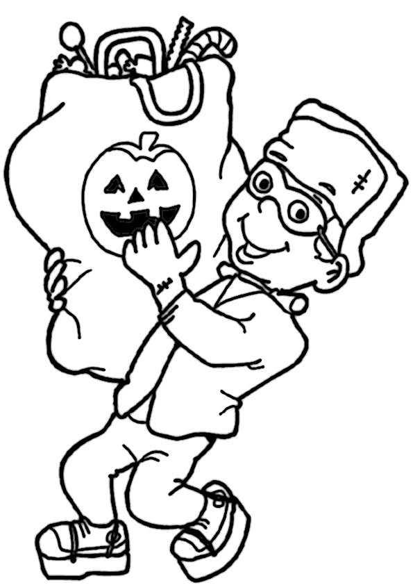 ausmalbilder   halloween , malvorlagen  halloween,-54