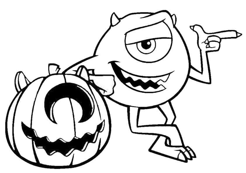 ausmalbilder halloween -56