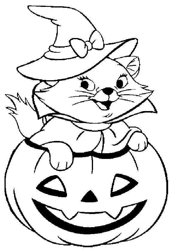 ausmalbilder halloween -57