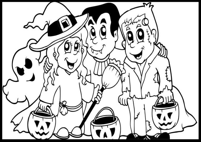 ausmalbilder halloween -58