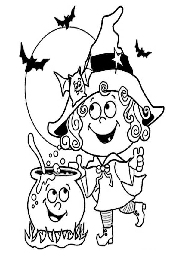 ausmalbilder halloween -60