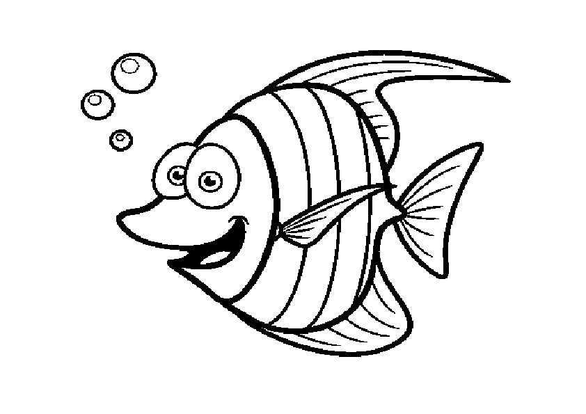 ausmalbilder fische-1