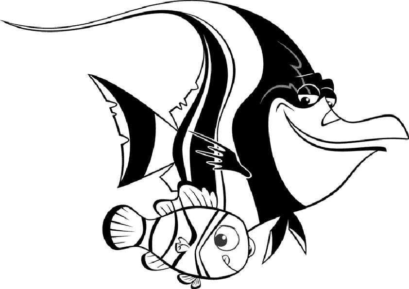 ausmalbilder fische -15
