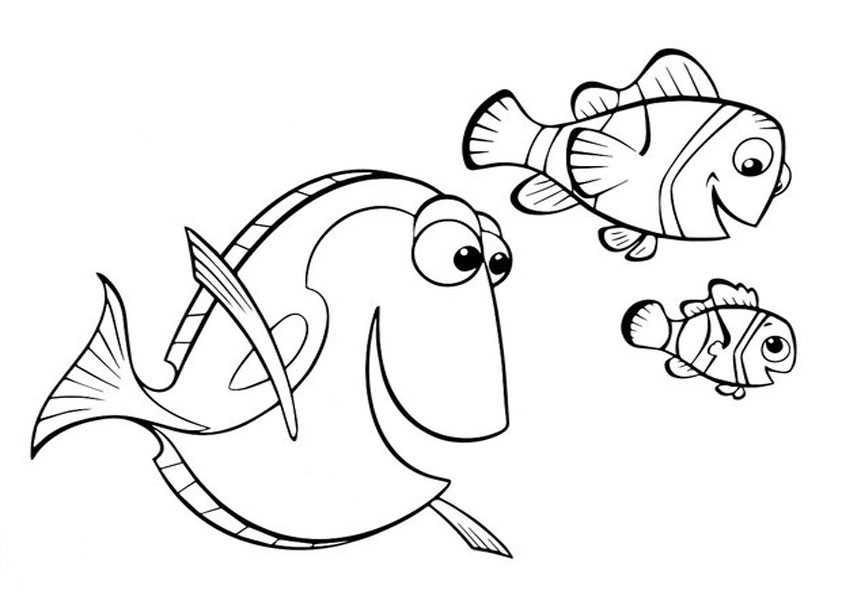 ausmalbilder fische-8