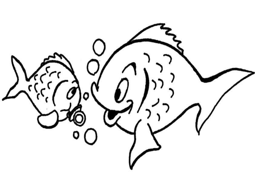 ausmalbilder fische-9