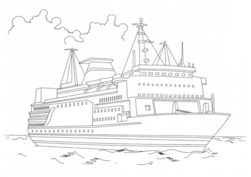 ausmalbilder schiffe-12