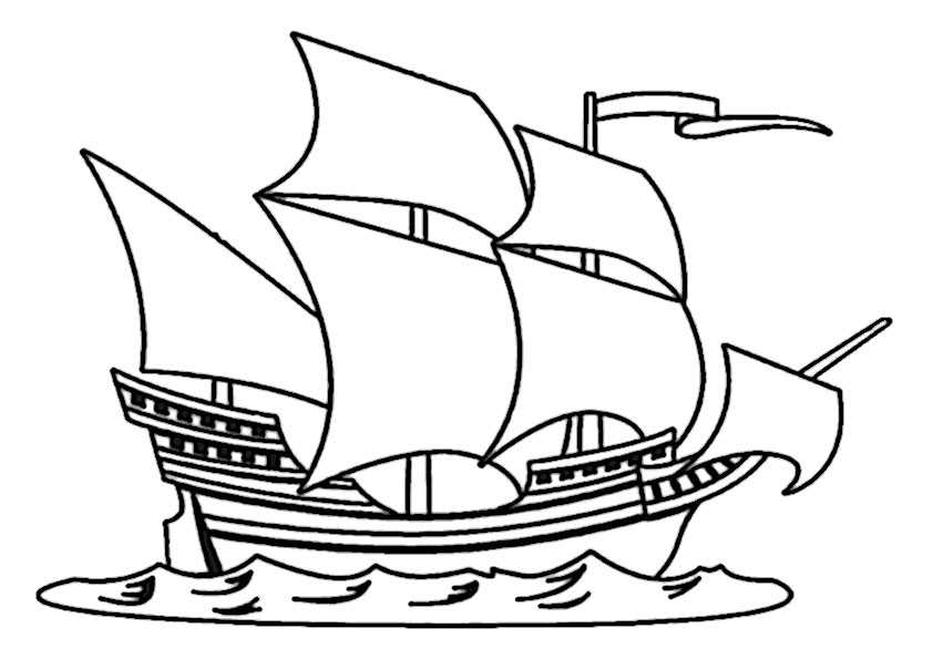 ausmalbilder schiffe-19