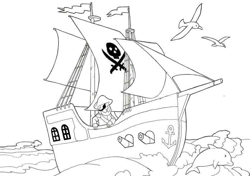 ausmalbilder schiffe-20
