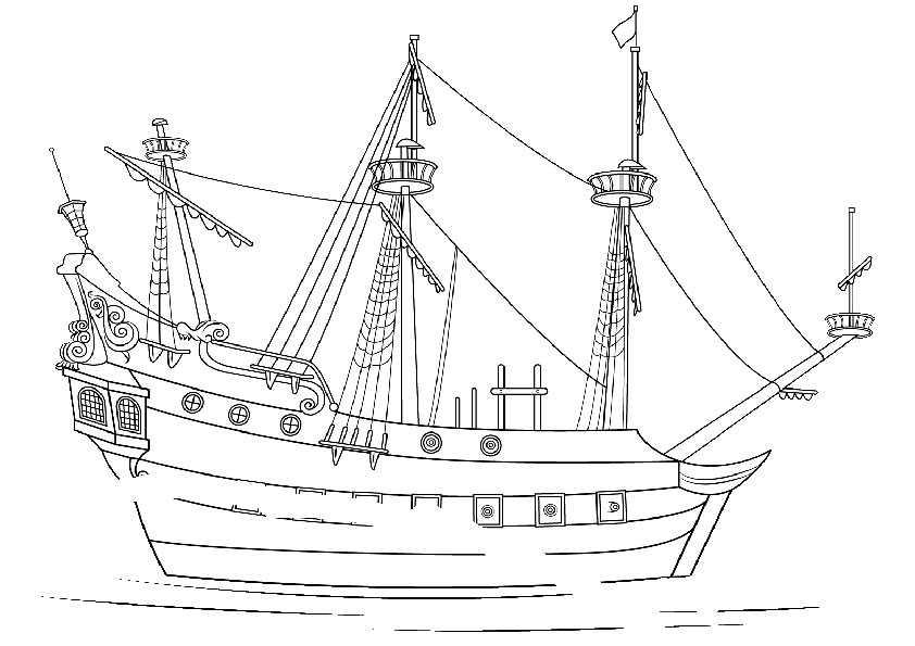 ausmalbilder schiffe-5