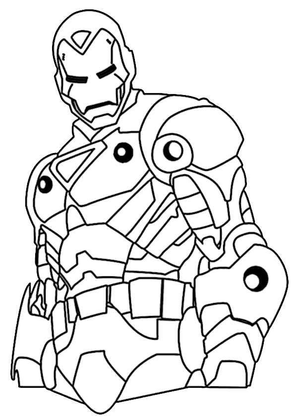 ausmalbilder ironman -3