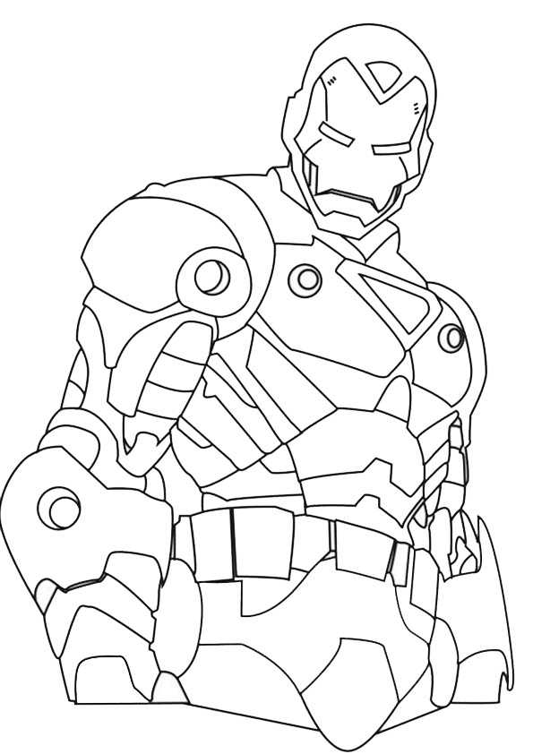 ausmalbilder ironman -4