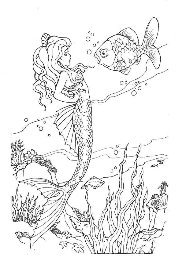 ausmalbilder meerjungfrauen-5