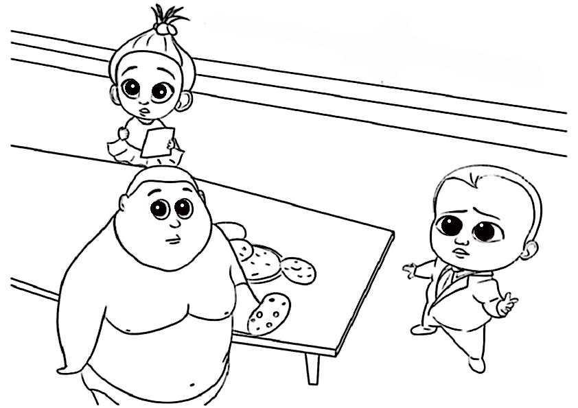 ausmalbilder  the boss baby-19