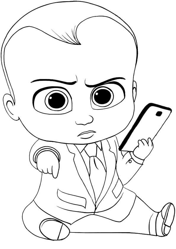 ausmalbilder the boss baby-34