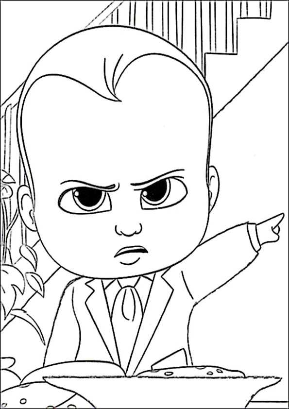 ausmalbilder the boss baby-36