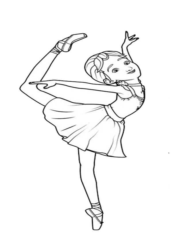 ausmalbilder ballerina-7