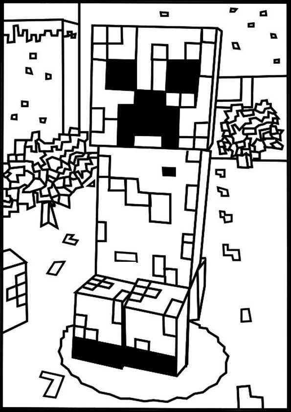 ausmalbilder minecraft-5