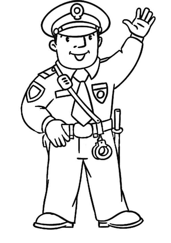 ausmalbilder polizei-1