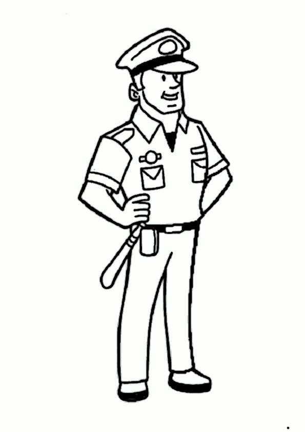 ausmalbilder polizei-3