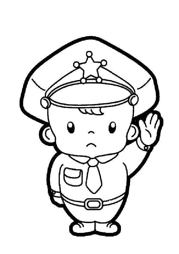 ausmalbilder polizei-9