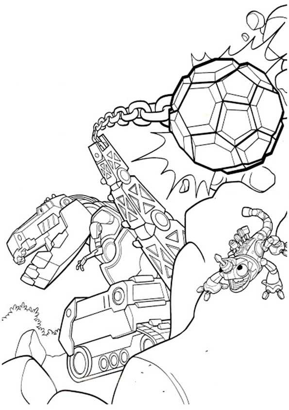 ausmalbilder dinotrux -14