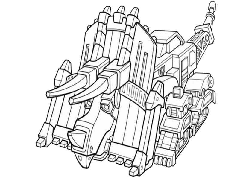 ausmalbilder dinotrux -2